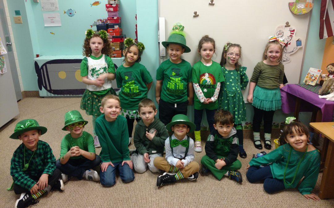 Preschool St. Patrick's Day Fun
